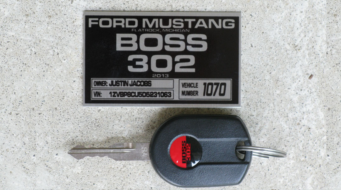 BOSS 302 TracKey Decals